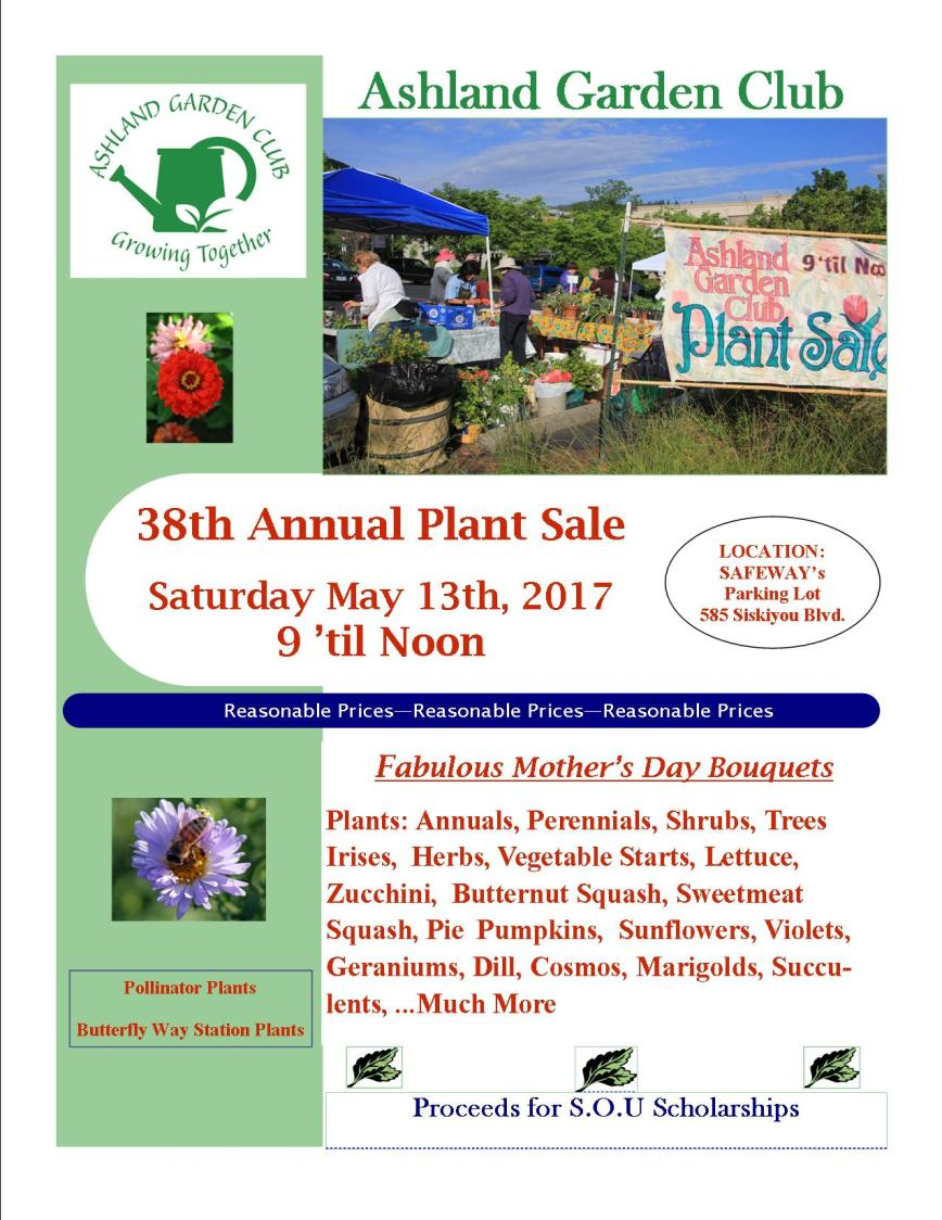2017 38th Plant Sale Flyer