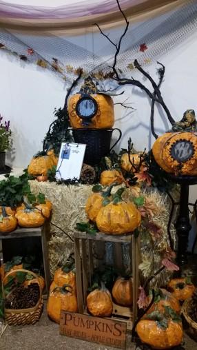 Handmade Paper Pumpkins