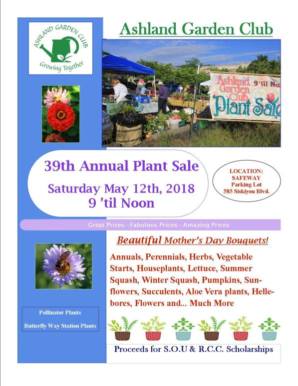 2018 39th Plant Sale Flyer